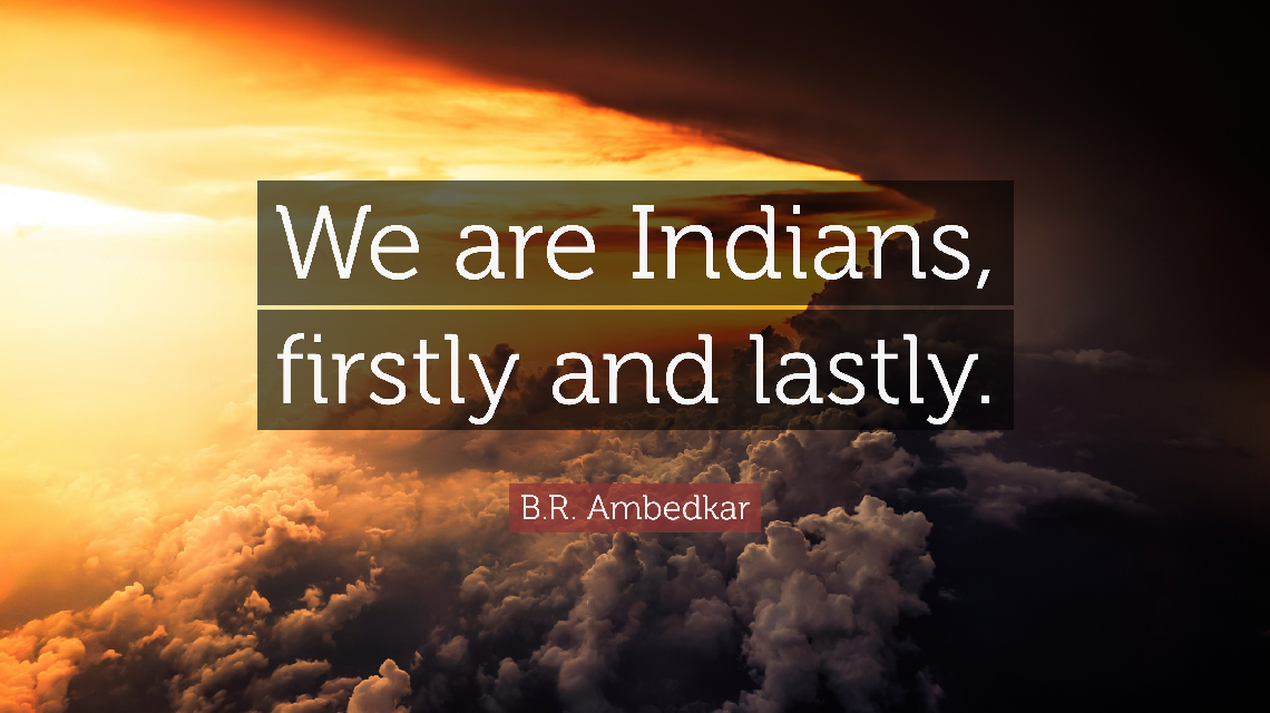 We are Indians Firstly and Lastly – Mahaveer Publications